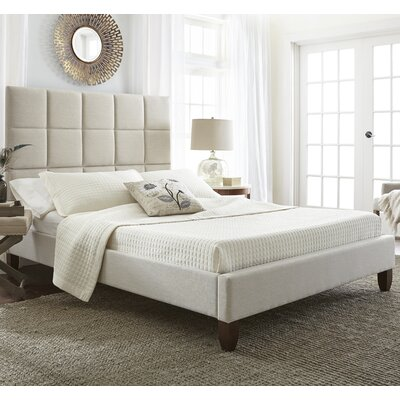 Batelov Upholstered Platform Bed Size: Double