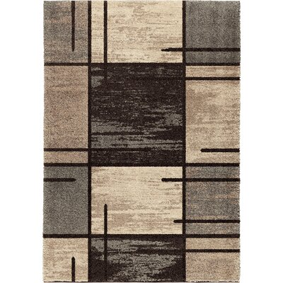 Aaron Gray Area Rug Rug Size: 710 x 1010