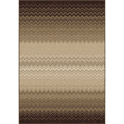 Aiden Taupe/Beige Area Rug Rug Size: 710 x 1010
