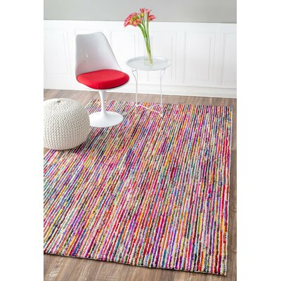 Harley Hand-Tufted Area Rug Rug Size: Rectangle 76 x 96