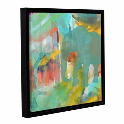 Spectacular Effect II Framed Painting Print on Wrapped Canvas