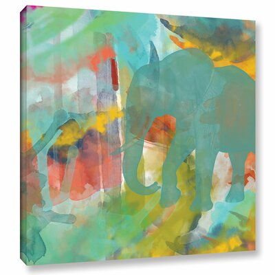 Spectacular Effect II Painting Print on Wrapped Canvas