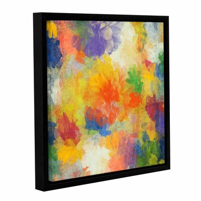Air of Happiness Framed Painting Print on Wrapped Canvas