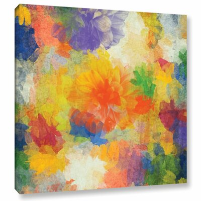 Air Of Happiness Painting Print on Wrapped Canvas