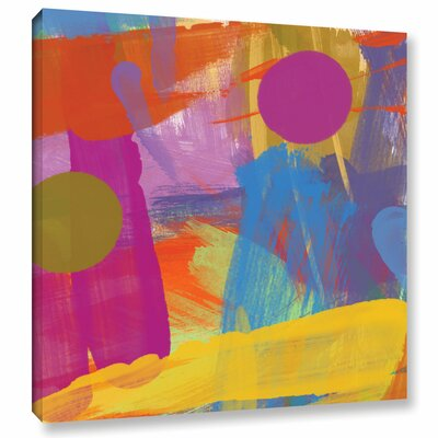 Joy Painting Print on Wrapped Canvas