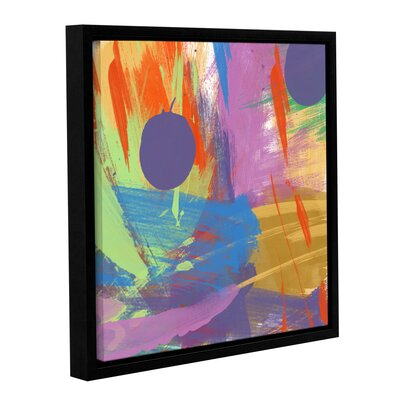 Passionate Joy I Framed Painting Print on Wrapped Canvas