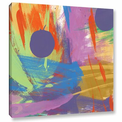Passionate Joy I Painting Print on Wrapped Canvas