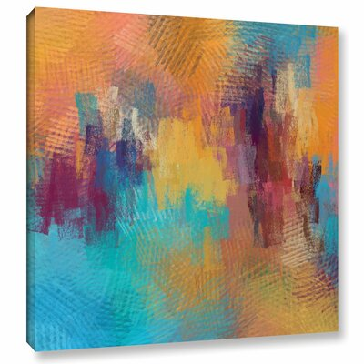 Improvisation Painting Print on Wrapped Canvas