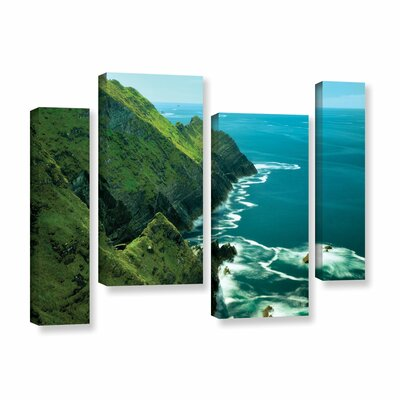 Emerald Coast 4 Piece Photographic Print on Wrapped Canvas Set