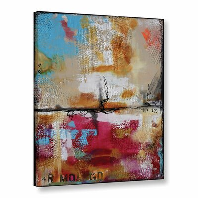 Fabstract Painting Print on Wrapped Canvas Size: 18