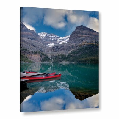 Red Conoes Photographic Print on Wrapped Canvas
