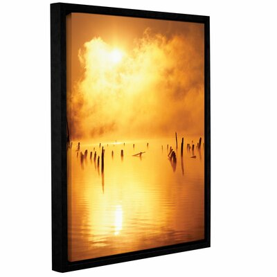 Mistified Frame Photographic Print on Wrapped Canvas Size: 18