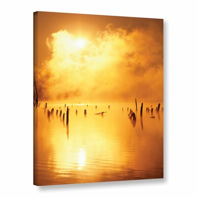 Mistified Photographic Print on Wrapped Canvas Size: 18