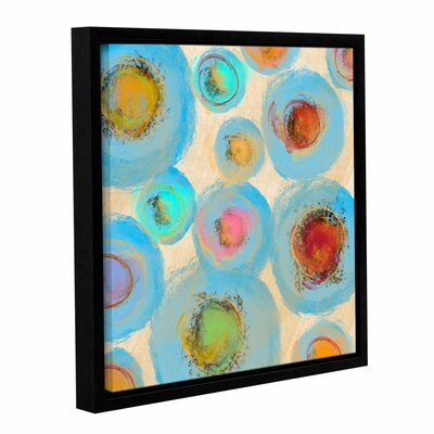 Abstract Spring Flowers I Framed Painting Print on Wrapped Canvas Size: 10