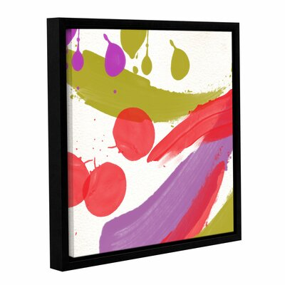 Organized Chaos II Framed Painting Print on Wrapped Canvas Size: 10