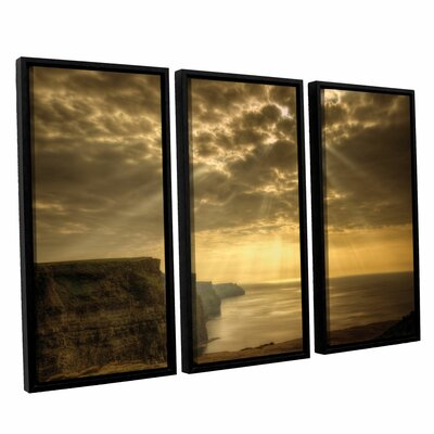 Heavenly 3 Piece Framed Photographic Print Set