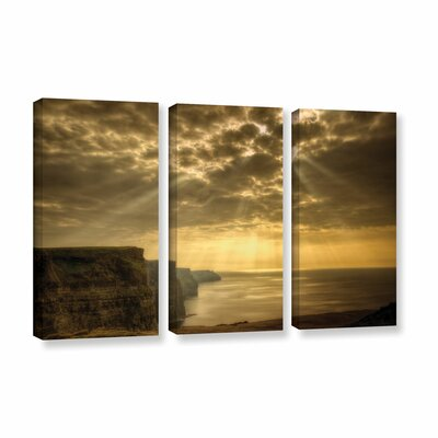 Heavenly 3 Piece Photographic Print on Wrapped Canvas Set