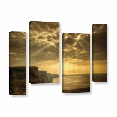 Heavenly 4 Piece Photographic Print on Wrapped Canvas Set