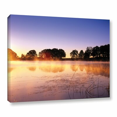 Morning Photographic Print on Wrapped Canvas