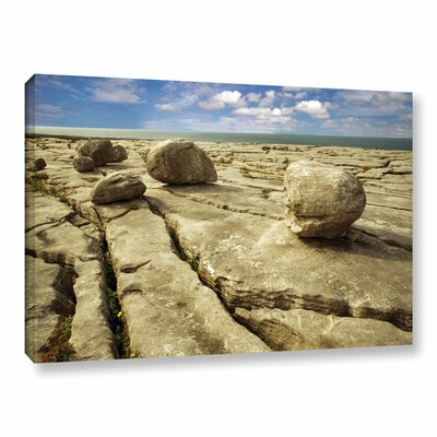 Boulders Photographic Print on Wrapped Canvas