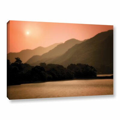 Peach Dream Photographic Print on Wrapped Canvas