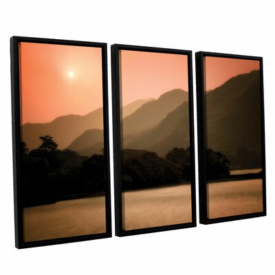 Peach Dream 3 Piece Framed Photographic Print Set
