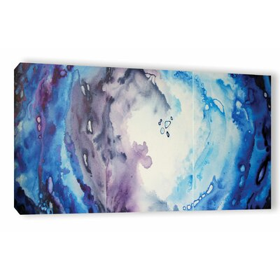 Moonlight Painting Print on Wrapped Canvas Size: 12