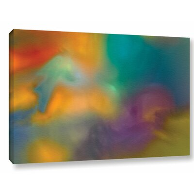 Fantasy in Colour Painting Print on Wrapped Canvas Size: 12