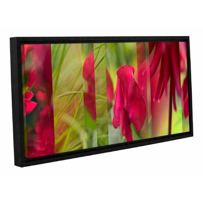 Ruby Red Garden Framed Photographic Print
