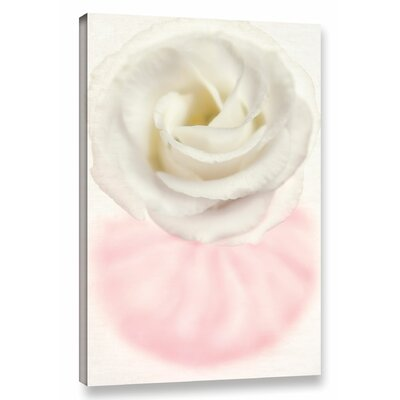 Swirl Flower Graphic Art on Wrapped Canvas Size: 18