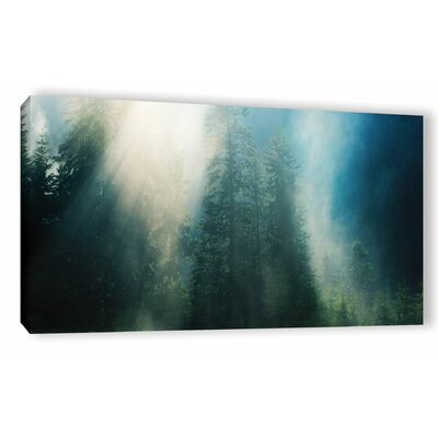Sunny Showers Photographic Print on Wrapped Canvas Size: 12