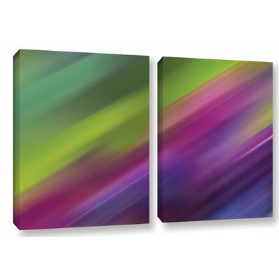 Frozen Light 2 Piece Graphic Art on Wrapped Canvas Set