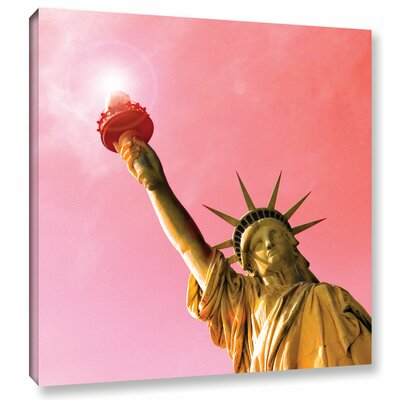 Golden Liberty Photographic Print on Wrapped Canvas Size: 10
