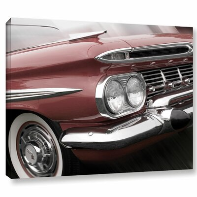 59 Impala Red Photographic Print on Wrapped Canvas