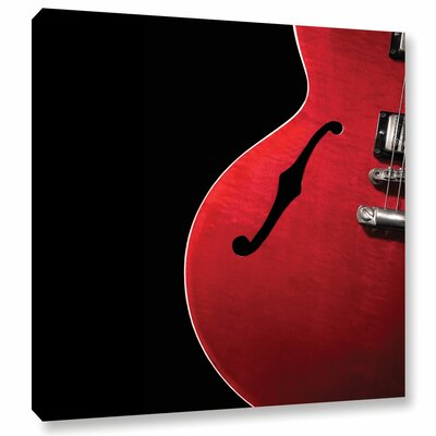 Curvy Gibson Photographic Print on Wrapped Canvas Size: 10