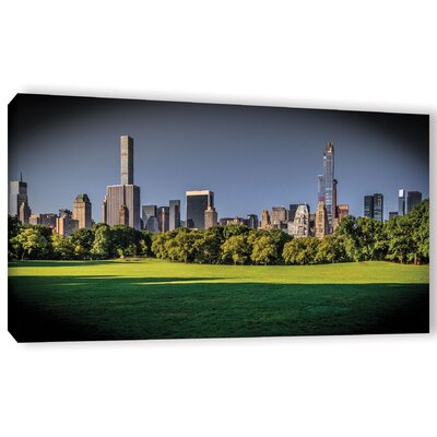 CPW Skyline Photographic Print on Wrapped Canvas