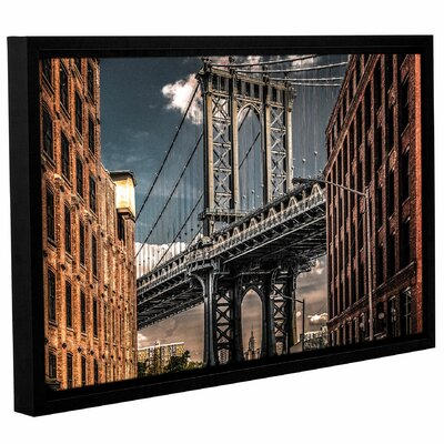 Empire Shadow Manhattan Bridge II Framed Photographic Print