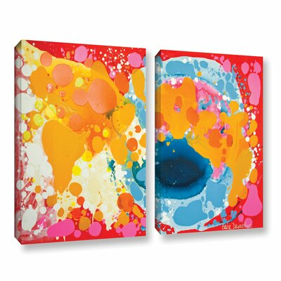 Brave 2 Piece Painting Print on Wrapped Canvas Set Size: 18