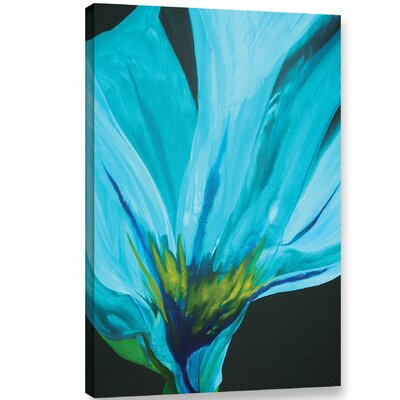 Blue Rhapsody Painting Print on Wrapped Canvas
