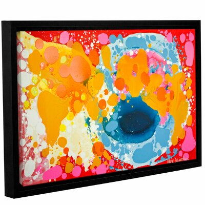 Brave Framed Painting Print Size: 12