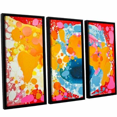 Brave 3 Piece Framed Painting Print Set Size: 24