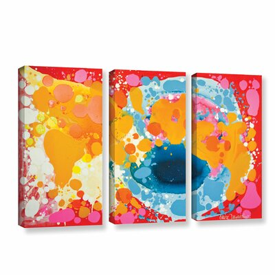 Brave 3 Piece Painting Print on Wrapped Canvas Set Size: 24