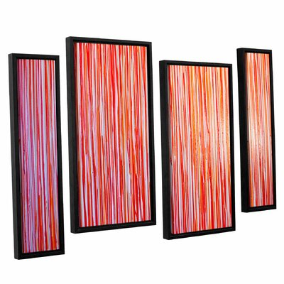 Date Night 4 Piece Framed Painting Print Set
