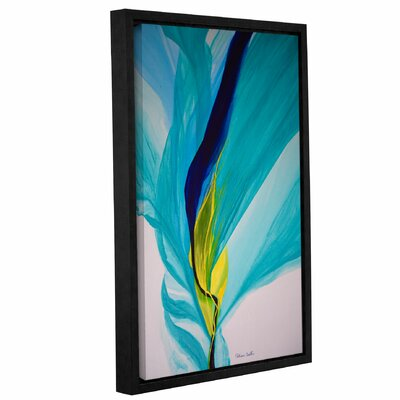 Reaching Out! Framed Painting Print Size: 18