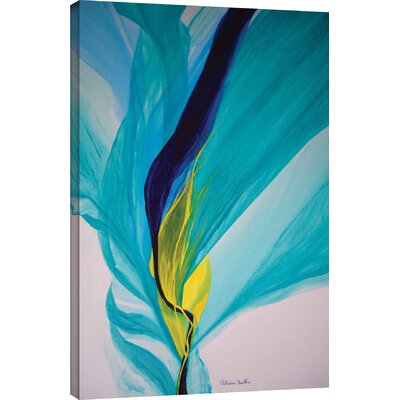 decorative accents - Zipcode Design 'Reaching Out!' Painting Print on Wrapped Canvas - Zipcode Design Wall Art