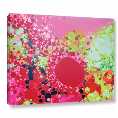 Long Kiss Painting Print on Wrapped Canvas Size: 14
