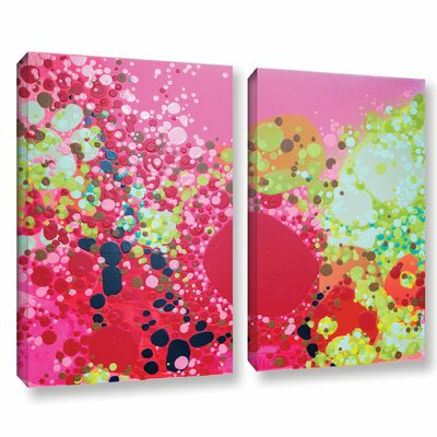 Long Kiss 2 Piece Gallery Wrapped on Canvas Set Size: 18