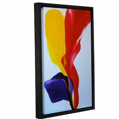 Happy Happy Framed Painting Print Size: 18