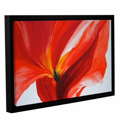 Reaching Out Framed Painting Print