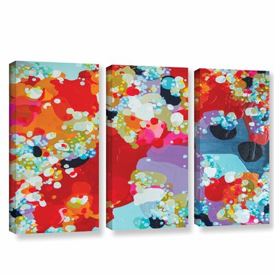 Without Boundaries 3 Piece Painting Print on Wrapped Canvas Set